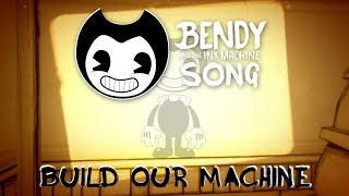 Download BENDY AND THE INK MACHINE SONG (Build Our Machine) LYRIC  - DAGames MP3 song and Music Video