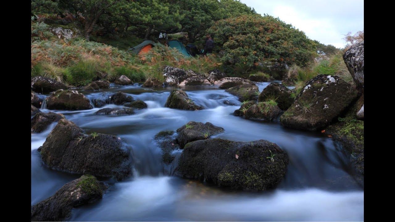 Dartmoor wild camp - YouTube