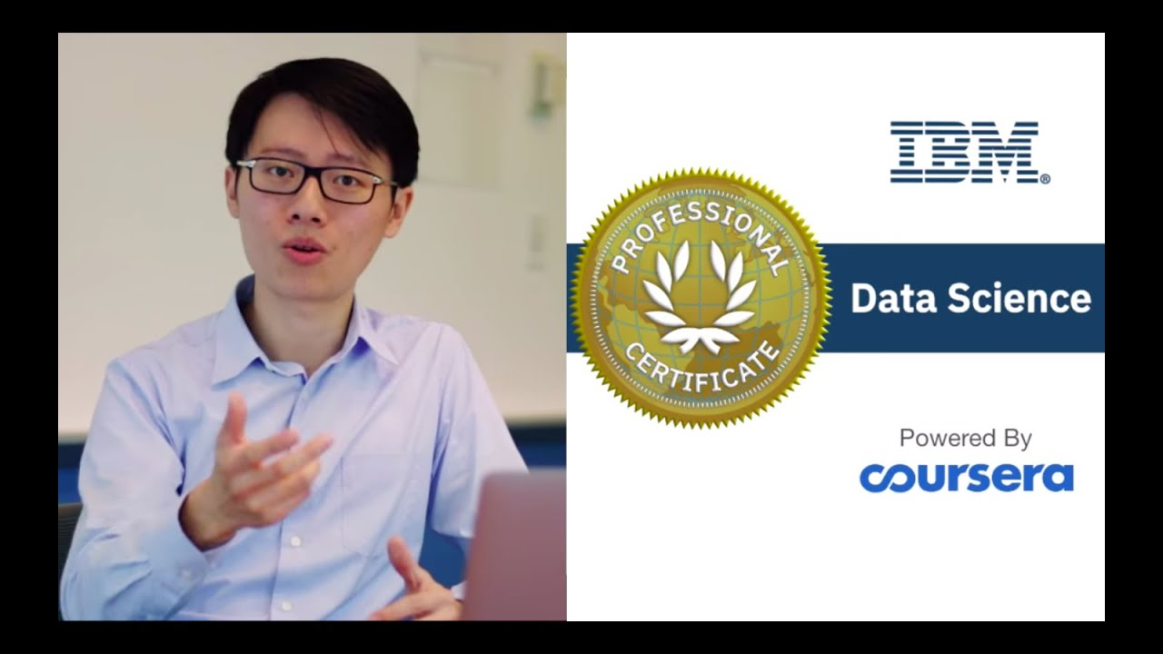 IBM Data Science Professional Certificate on Coursera