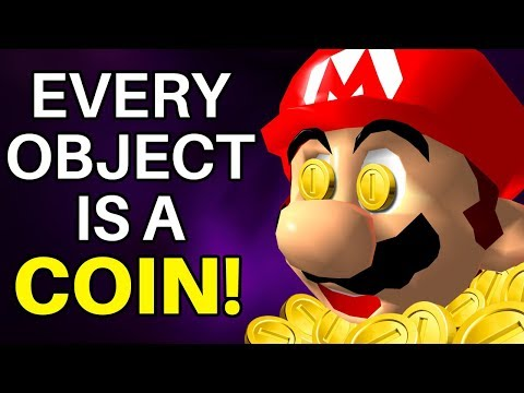 Is it Possible to Beat Super Mario 64 if Every Object is a Coin?