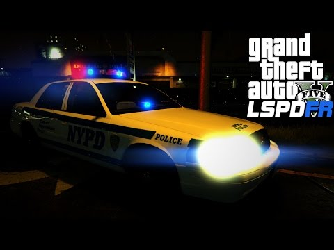 GTA V LSPDFR #57 Pacific Bank Heist Callout!