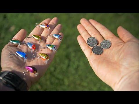 CHEAPEST Micro Crankbaits = New Favorite Lure!?