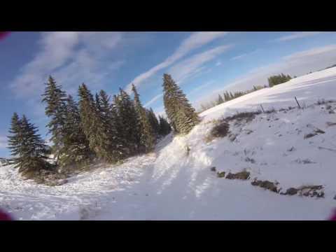 Flying Blackmud Creek January 11, 2016