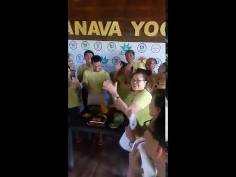 salsa safaraz # pranava yoga 2