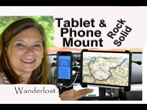 Most Secure Dash Mount For Tablet And Phone & How To Install It 🖥📱🔧🔨
