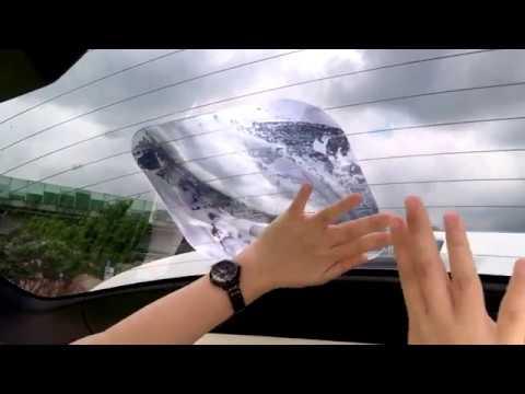 Fresnel lens magnifier window wide angle truck car reverse parking