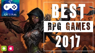 Top 10 best rpg games for android & Ios 2017