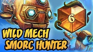 TOP 6 LEGEND! | Wild Mech SMORC Hunter | The Boomsday Project | Hearthstone