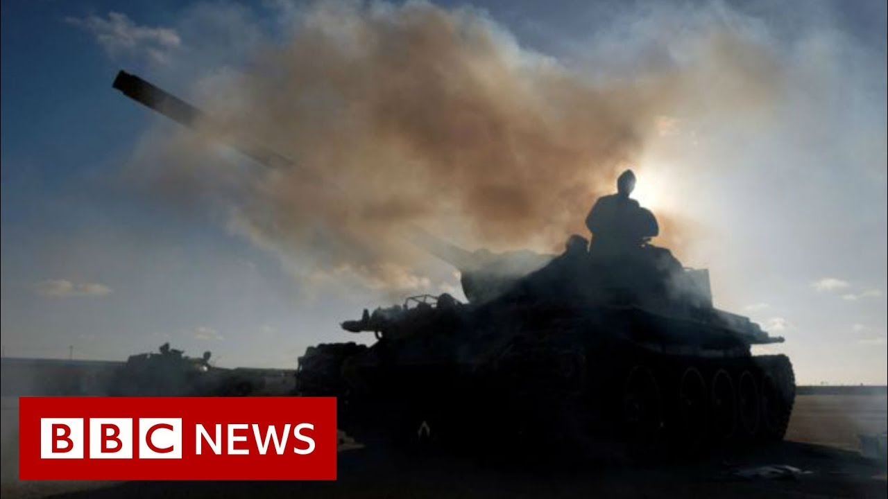 The fight for Tripoli explained from the front line - BBC News