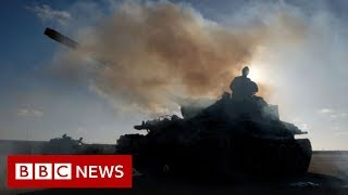 Libya: The fight for Tripoli explained from the front line - BBC News