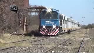 La vía Beazley (parte 12): Tren tolvero de TAC (LSM) pasando por Nueva Escocia
