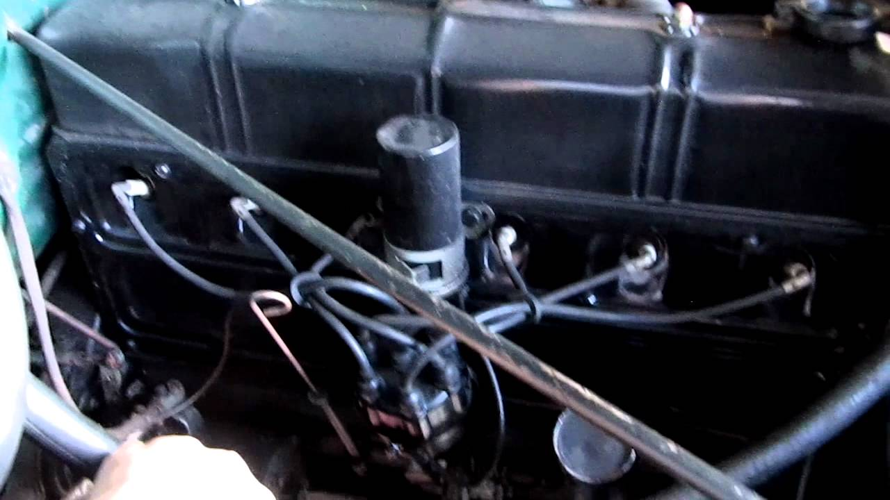 1950 Chevy Hoses Youtube 1954 Truck Heater Controls