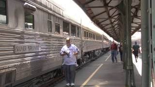 Amtrak Coast Starlight 23-24 July 2013