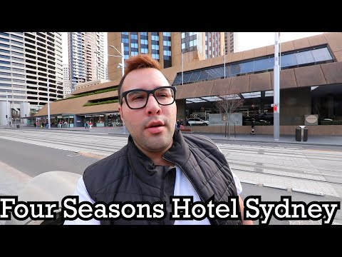 I STAYED IN A 5 STAR HOTEL IN SYDNEY Four Seasons Hotel Sydney
