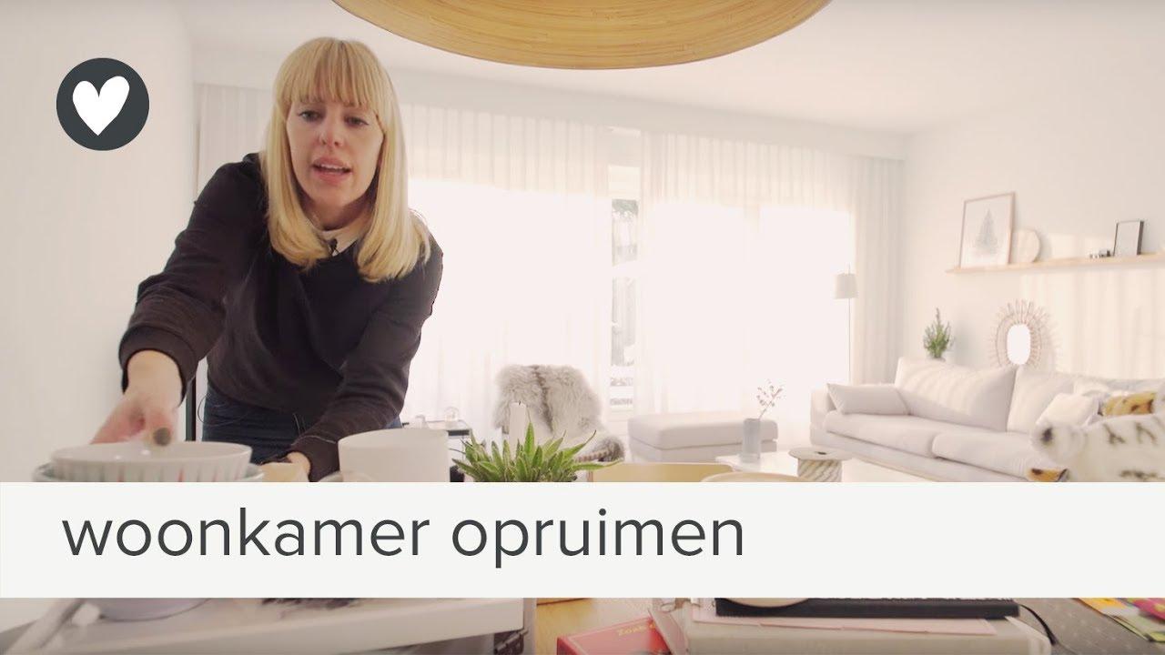 opruimtips van seline: de woonkamer | vtwonen | tips - YouTube