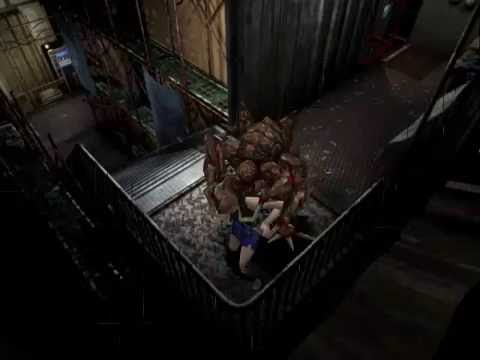 ( Ryona リョナ) Jill Valentine Eaten By Two Zombies (Gmod ...