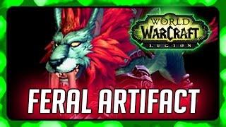 WOW Legion ► Fangs of Ashamane - Feral Druid (Cat Form) Artifact Quest