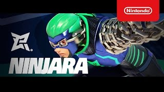『ARMS』ニンジャラ参戦!