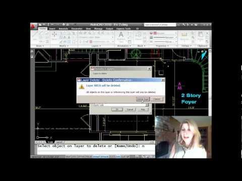 AutoCAD Tip -- Delete Stubborn Layers in AutoCAD (Lynn Allen/Cadalyst Magazine)