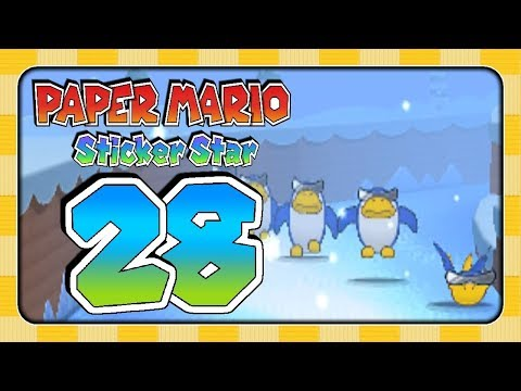 Let's Play Paper Mario: Sticker Star (Part 28): Pincool-Paranoia!