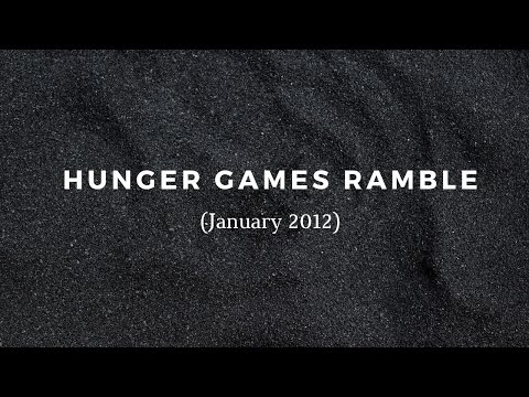 Short ramble on The Hunger Games