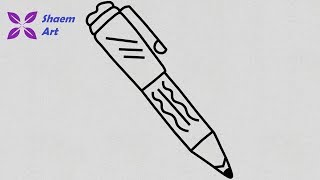 pen easy drawing draw