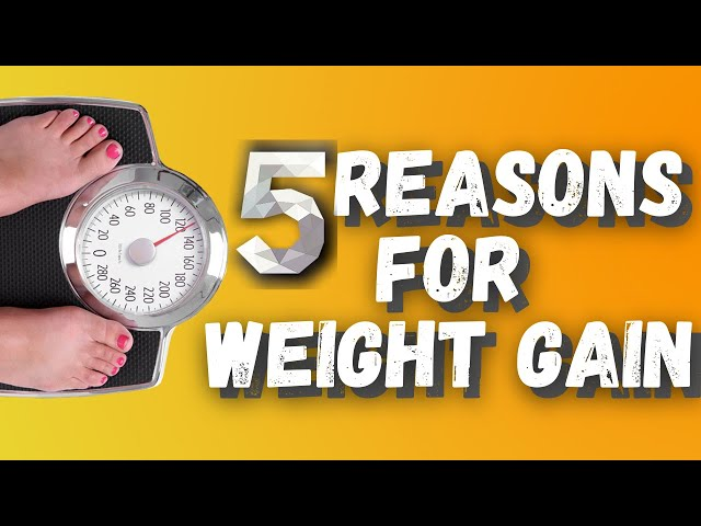 Top 5 Reasons you're Gaining Weight(Weight Gain Causes)
