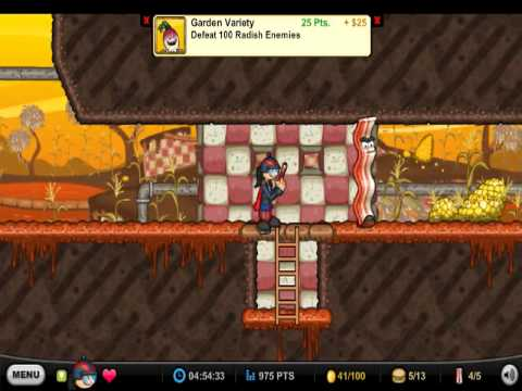 papa louie 2 walkthrough level 7