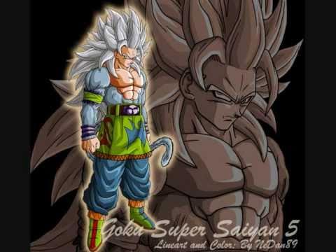 Gokus Super Saiyan Ascension Saiyans 1 15 With Power Levels