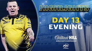 CLASSY CHIZZY! Day 13 Evening Highlights | 2020/21 William Hill World Darts Championship