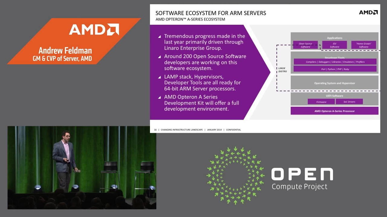 AMD introduces the first 64-bit ARM®-based server CPU