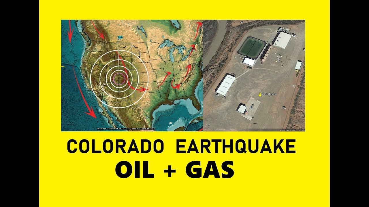 Image result for 3/04/2019 -- Largest Earthquake in years strikes Western Colorado @ Oil   Gas pumping ops