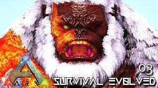 ark survival evolved primeval megapithecus giant ape tame e03 modded ark pugnacia dinos