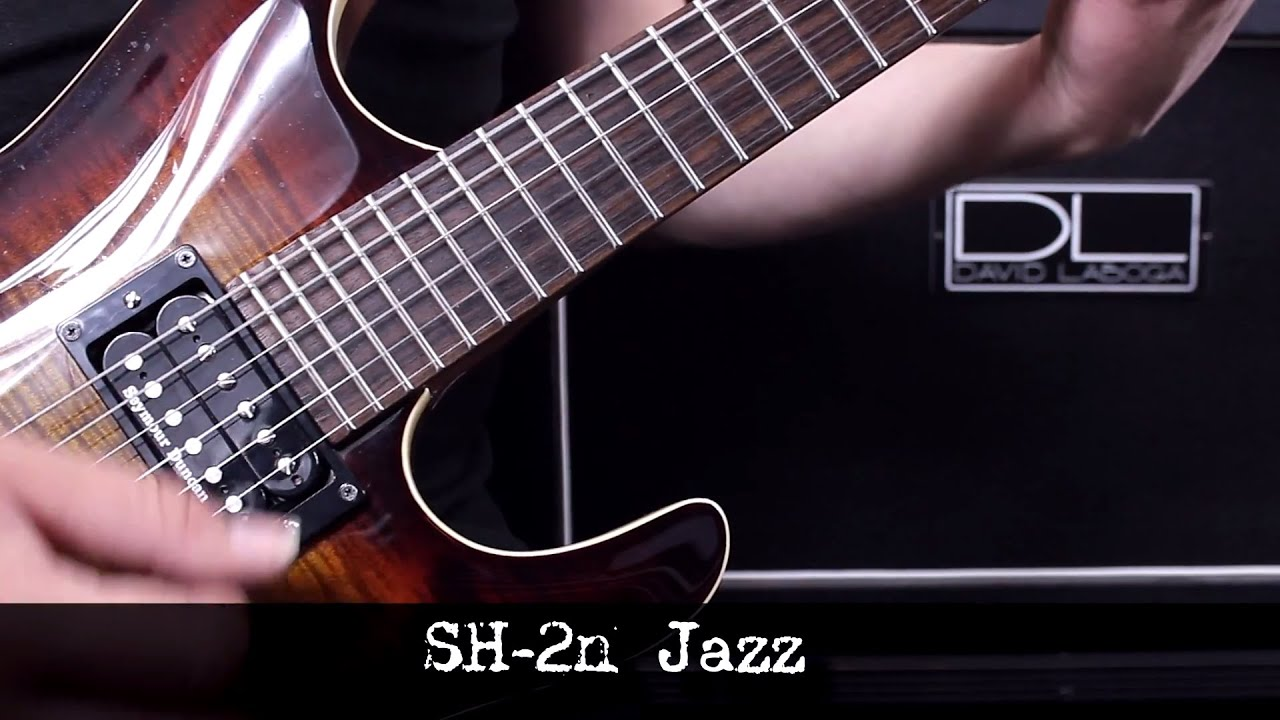 jazz neck demo sh 2 with loop control youtube for musicians