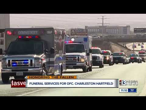 Officer Charleston Hartfield's Funeral Service