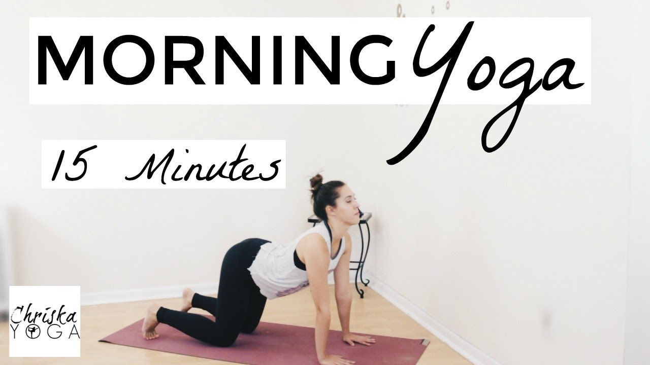 Watch This 15-Minute Morning Yoga Routine Wakes You Up Better Than Coffee video