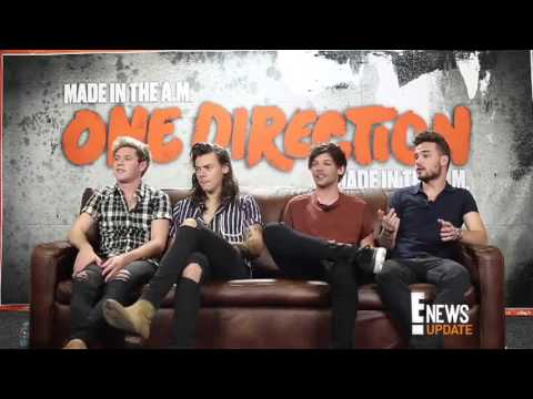 One Direction interview for E!News Latino