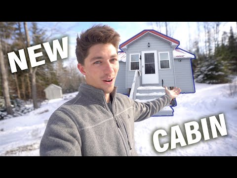 Why I Bought A Backwoods Cabin In Maine! (FULL CABIN TOUR)