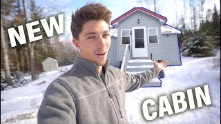 Why I Bought a Backẁoods Cabin in Maine! (FULL CABIN TOUR)