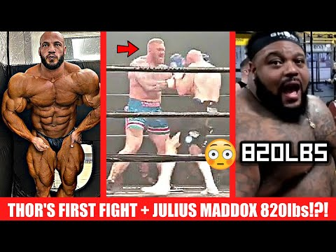 Thor's First Fight + Big Ramy 2013 VS 2020 + Julius Maddox 820lbs + Steve Kuclo Banned? + MORE
