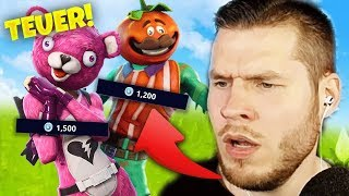 Top 10 worst Fortnite Skins - with StandartSkill