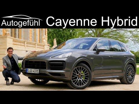 Porsche Cayenne Hybrid FULL REVIEW 2019 Plugin E-Hybrid - Autogefühl