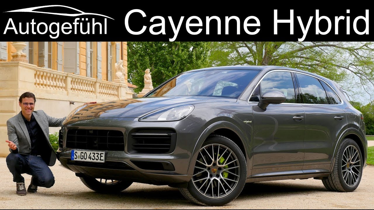 Porsche Cayenne Hybrid Full Review 2019 Plugin E Autogefühl