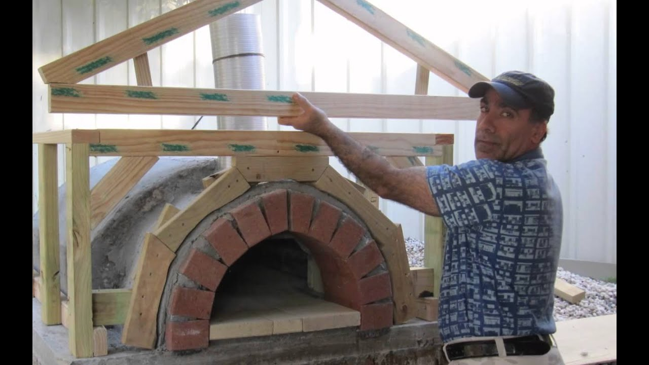 the making of a wood fire pizza oven by behnam houshmand youtube