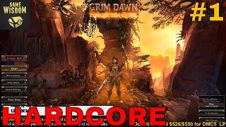 Grim Dawn Returns   Forgotten Gods Hardcore Play (Night 1)