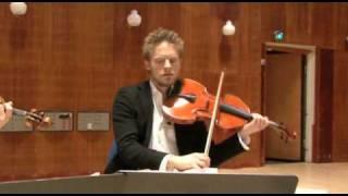 The Danish String Quartet plays Beethoven's opus 127