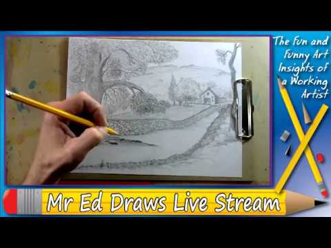 Old Country - Mr Ed Draws Live