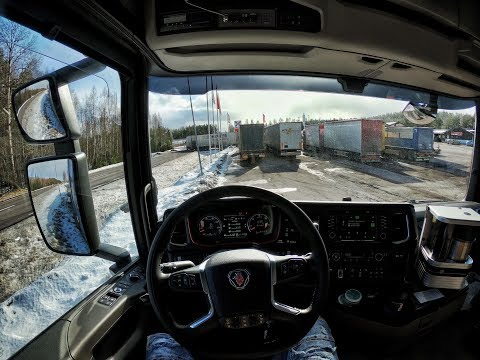 POV Driving new Scania s520 in Norway #NEXTGENERATIONSCANIA