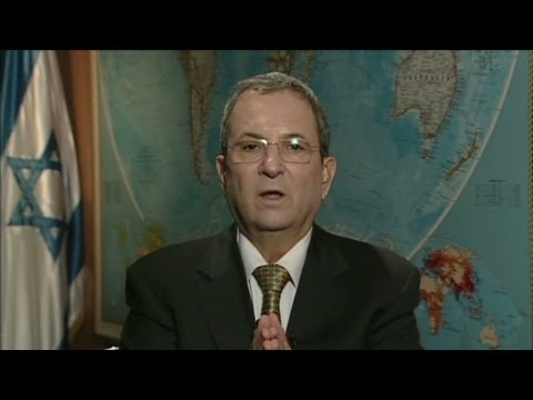 Israeli Defense Minister Ehud Barak on settlements