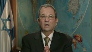 Israeli Defense Minister Ehud Barak on settlements
